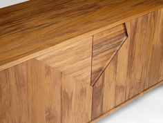Contemporary sideboard in solid wood (FSC-certified) - SEPULUH - INCH FURNITURE