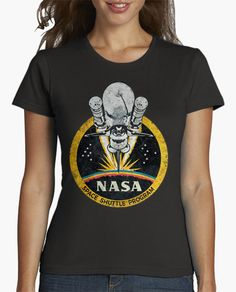 Camiseta Nasa Space Shuttle Program Vintage Emble