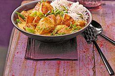 Hähnchen-Ananas-Curry mit Reis, ein sehr schönes Rezept aus der Kategorie Studentenküche. Bewertungen: 706. Durchschnitt: Ø 4,6.