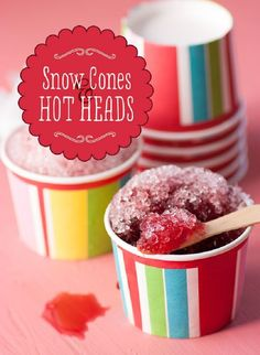 Immune-Boosting Snow Cones - 12 Icy Snow Cone Recipes That Will Make You Forget About Ice Cream | GleamItUp