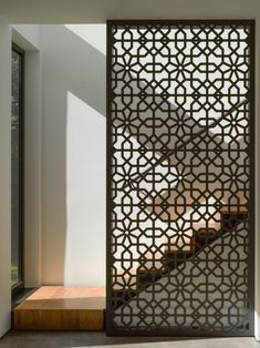 ideas metal screen design interiors for 2019 Screen Design, Wall Design, House Design, Design Design, Facade Design, Wooden Screen, Metal Screen, Floor Screen, Screen Doors