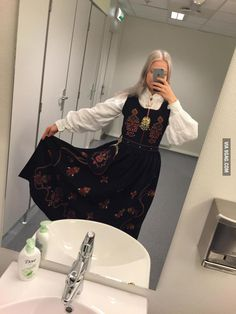Norway's traditional national dress, the bunad