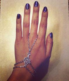 Double Bracelet Ring Harness by Stinnys on Etsy