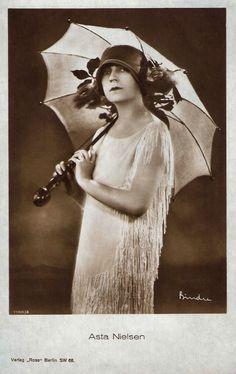 silent film star parasols - Google Search