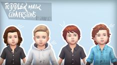 Sims 4 CC's – The Best: Toddler Hair Conversions by - All About Hairstyles Sims 4 Cc Skin, Sims 4 Mm Cc, Xavier Rudd, Sims 4 Children, 4 Kids, Sims Mods, Tai Chi, Body, Sims 4 Toddler