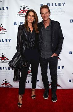 Cindy Crawford and Rande Gerber have marked their 19th wedding anniversary
