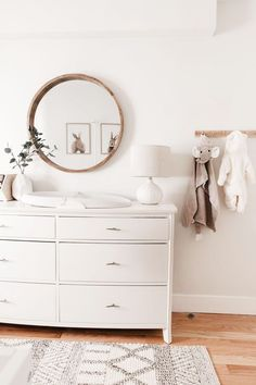 Nursery Decor 80725 Keep it light and cheerful in Kendall Kremer's gender neutral nursery. Design your little one's room to create a space that they and you will love Baby Room Decor, Nursery Decor, Bedroom Decor, Nursery Ideas, Kids Bedroom, Bedroom Inspo, Budget Nursery, Girl Nursery, Babies Nursery