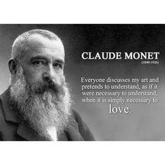 Art quotes by monet Monet Paintings, Impressionist Paintings, Abstract Paintings, Painting Art, Landscape Paintings, Camille Pissarro, Claude Monet Quotes, Artist Monet, Artist Quotes