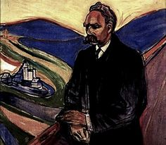Edvard Munch, Friedrich Nietzsche, 1906-7.