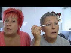 Augen Make-up Schritt 2  Oberlid - YouTube