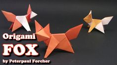 Origami FOX EASY - Yakomoga Origami easy tutorial: How to make an easy origami fox Como hacer un origami zorro fácil Como fazer uma raposa origami fácil Comment faire un renard origami facile Wie eine einfache Origami Fuchs machen 쉬운 종이 접기 폭스를 만들려면 簡単な折り紙のキツネにする方法 Làm thế nào để làm cho một con cáo origami dễ dàng ================================================== I respect the copyrights of the model taken by me on this if you are the author of this model and want me to delete the video…