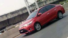 Toyota Vios/Yaris é flagrado em Taiwan. Será um concorrente do Honda City no Brasil?