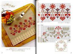 Cross Stitch Embroidery Vol 4 Japanese Craft Book | eBay