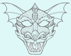 Dragon Mask Activity via pheemcfaddell.com ~ Perfect for The Rain Dragon Rescue {Imaginary Veterinary Book 3}