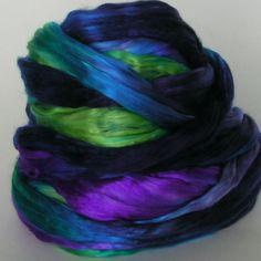 Phat Fiber Sample Box: WoolieBullie Scarab Mulberry Silk giveaway!