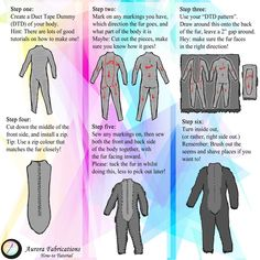 Fursuit Body Tutorial by Aurora-Fabrications on DeviantArt