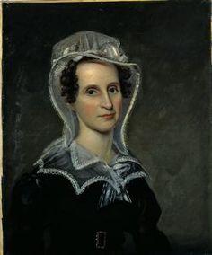 Rembrandt Peale. Portrait of Marie Wheelock Allen,1825. Oil on canvas  26 7/16 in. x 22 in. (67.15 cm x 55.88 cm). Gift of Mrs. Malleville McC. Howard  1950.14