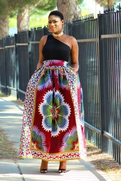 Iwada Adensecret Full gathered Dashiki Maxi Ankara skirt  #webuyblack #igfashiontrends #ootn #model #fashiondiaries #photography #iwearafrican #fashiondaily #like4like #style