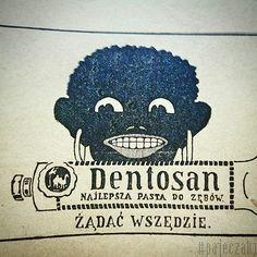 reklama Dentosanu, żądać wszędzie Kurier Warszawski (nr 191) pajonki's photo on Instagram