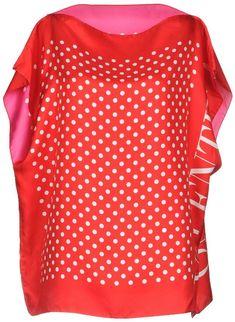 50ede01fd Polka Dot Top, Red And White, Blouses, Valentino, Shirt Blouses, Blouse,  Sweatshirts, Woman Shirt