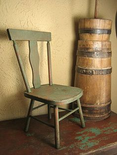 old wood chairs rocking for porch 265 best wooden images antique early primitive child s chair w green paint 90