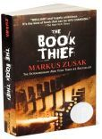 #The Book Thief#      It's just a small story really, about among other things: a girl, some words, an accordionist, some fanatical Germans, a Jewish fist-fighter, and quite a lot of thievery. . . .