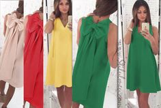 Lejera, sexy si libera la un eveniment sau chiar zi de zi? Alege o rochie cu fundita la spate ... - http://www.stilulmeu.com/rochie-cu-fundita-la-spate-lejera-sexy/