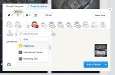 Buffer for Pinterest browser extension