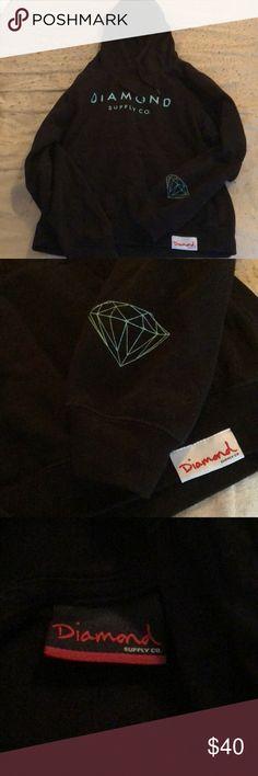 Diamond Supply co. Sweatshirt‼️ Diamond Supply co. Sweatshirt only worn a couple times from zumiezs. Brand new condition. Diamond Supply Co. Sweaters