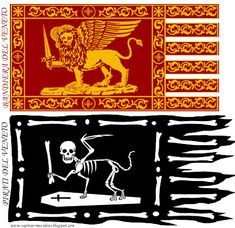 MI LABORATORIO DE IDEAS: Pirati del Veneto Badges, Flags, Symbols, Ship, Free, Lab, Icons, Badge, Flag