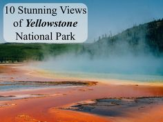 Yellowstone National Park is the world's first national park - and it boasts views that justify that title! Established in 1872, it covers an area of nearly 9,000km2 in three United States: Wyoming, Montana, and