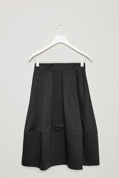 COS   Flared mid-length skirt