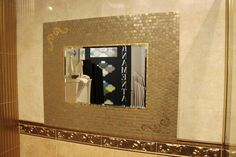 Отличная новость: теперь студия мозаики Trend предлагает услуги декорирования зеркал! Любое зеркало мастера студии готовы оформить мозаикой: цвета и рисунок на ваш выбор. Каждое изделие выполняется вручную по индивидуальному эскизу, срок работы — от 1 недели. Такое необычное решение позволит сделать интерьер по-настоящему уникальным! Для заказа услуг обращайтесь к менеджеру салона. А образцы изделий уже можно оценить в шоу-румах КАЙРОС на Тургеневском шоссе.