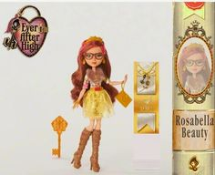 Ever After High: 2015 new character dolls: Rebel Rosabella Beauty™ (Daughter of the Beauty and the Beast)!