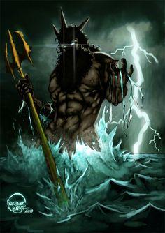 The bearded god of the seas!