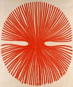 Najia Mehadji red art lines drawing pattern circle Inspiration Art, Art Inspo, Pattern Vegetal, Illustrator, Art Brut, Art Et Illustration, No Photoshop, You Draw, Arte Floral