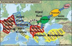 Népünk Honfoglalás előtti történetét nevezzük röviden őstörténetnek, mely néppé válásunktól egészen honfoglaló harcaink befejezéséig, azaz a pozsonyi csatáig (907) terjed. A cikk ezt az időszakot dolgozza fel. History Projects, Historical Maps, My Heritage, Hungary, Genealogy, Geography, 1, Historia, History
