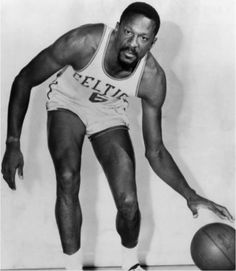 "At 6'10"", Bill Russell doesn't have to work to stand out. But when asked he sports a beard, Russell said, ""Why did I wear a beard, why do I? it's part of this thing—I've always fought so hard to be different and I am different without even trying, and maybe it's just my own little revolution."""