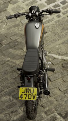 Yamaha SR250 Cafe Racer, Scrambler, Bobber, Cars And Motorcycles, Motorbikes, Yamaha, Cool Cars, Vehicles, Biking