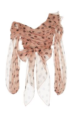 Malinda Silk Organza Top by JOHANNA ORTIZ Now Available on Moda Operandi