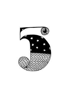sofialimasousa illustration number five 5
