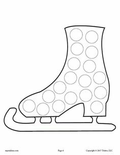 10 Winter Do-A-Dot Printables! You are in the right place about Winter Sports Crafts for Toddlers art projects Here we offer you the most beautiful picture Bullet Journal Sport, Toddler Crafts, Preschool Crafts, January Crafts, Do A Dot, Painting Activities, Sport Craft, Sand Crafts, Winter Crafts For Kids