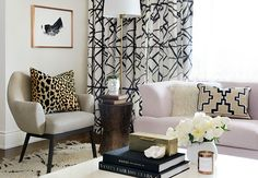 Sarah Walker from The Curated House (below) and Kristin Jackson from The Hunted Interior go bold and beautiful with the windows. Click through for more decor inspiration and trends to try.