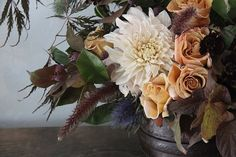 Honey of a Thousand Flowers fall themed bouquet.