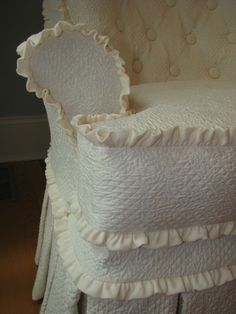Everyday Artist: Tufted Slipcovers