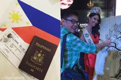 Angelia Ong Miss Earth Philippines 2015's Press Send Off to Miss Earth 2015