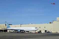 SFO Safety Training Aircraft Boeing 767