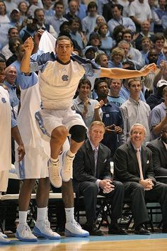 Jump Around!!   Danny Green has always been my fave tar heel