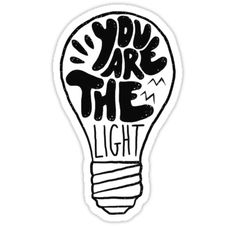 YOU ARE THE LIGHT ! / Matthew 5:14 / You are the light of the world. A town built on a hill cannot be hidden ! / Blessings ! / With Love Davide & Chiara ? / Bethel Store – Christian Designs • Also buy this artwork on stickers, apparel, phone cases, and more.