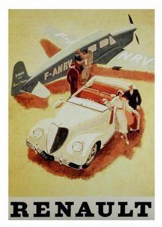 Vintage Renault Ad